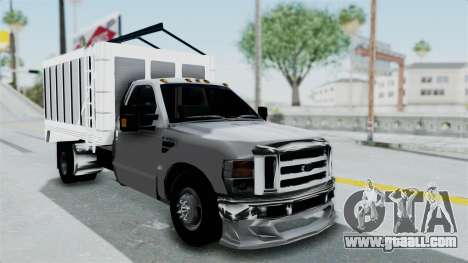 Ford F-350 for GTA San Andreas right view