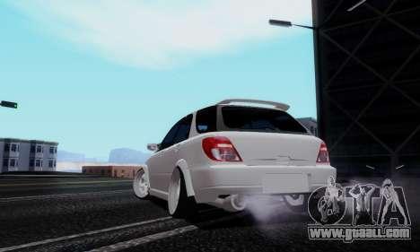 Subaru Impreza WRX STi Wagon Stens for GTA San Andreas left view