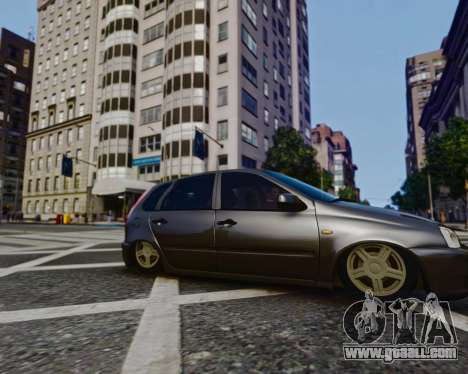 Lada Kalina for GTA 4 right view