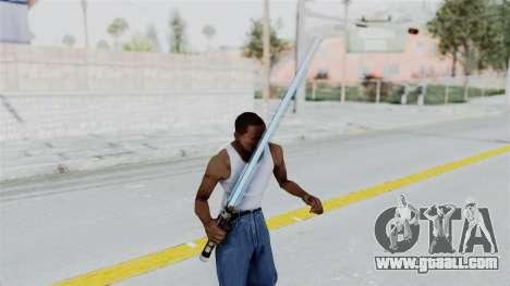 Star Wars LightSaber Blue for GTA San Andreas