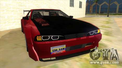 Elegy Tio Sam Style for GTA San Andreas back view