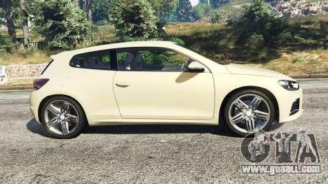 Volkswagen Scirocco R III Typ 13 2011 for GTA 5