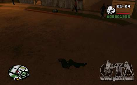 CJ Animation ped for GTA San Andreas forth screenshot