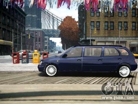 VAZ Kalina 1117 7-door for GTA 4 left view