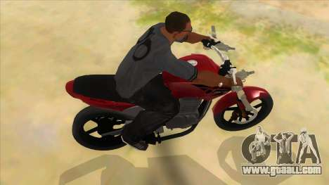 Honda Twister Stunt for GTA San Andreas inner view