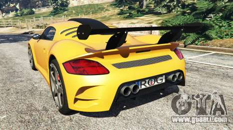 GTA 5 Ruf CTR3 v1.1 rear left side view