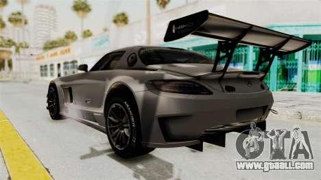 Mercedes-Benz SLS AMG GT3 PJ1 for GTA San Andreas left view
