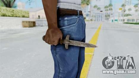 Skyrim Iron Dager for GTA San Andreas third screenshot