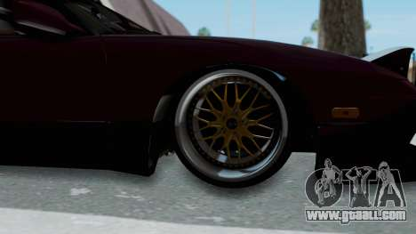 Nissan 180SX TOD for GTA San Andreas back view