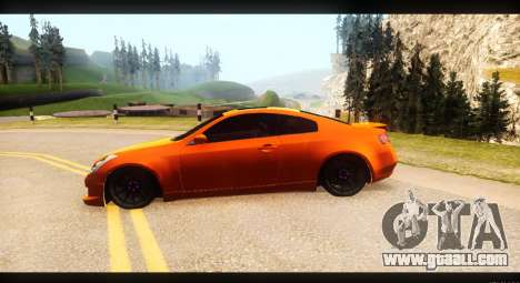 Infiniti G35 for GTA San Andreas right view