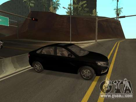 Lada Vesta for GTA San Andreas left view