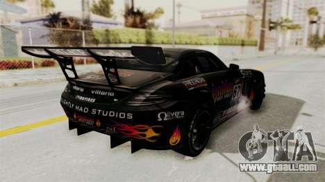 Mercedes-Benz SLS AMG GT3 PJ1 for GTA San Andreas upper view