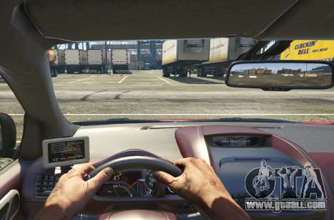GTA 5 2011 Aston Martin Cygnet 1.0 [Replace] back view