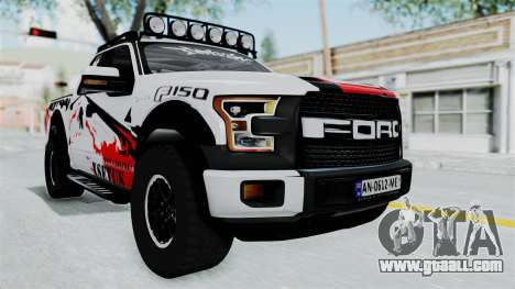 Ford F-150 Raptor 2015 for GTA San Andreas