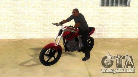 Honda Twister Stunt for GTA San Andreas