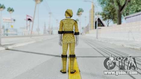 Power Rangers RPM - Yellow for GTA San Andreas third screenshot