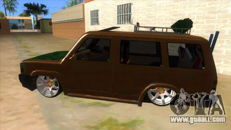 Toyota Kijang Grand Extra Full for GTA San Andreas left view