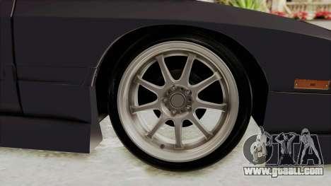Mazda RX-7 1990 (FC3S) Cordelia Glauca Itasha for GTA San Andreas back view