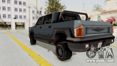 GTA 3 Cartel Cruiser for GTA San Andreas left view