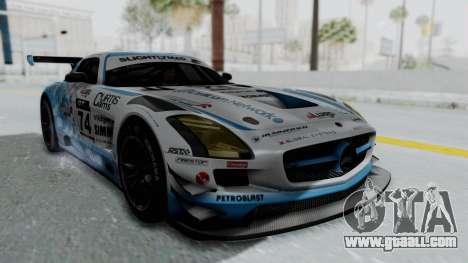 Mercedes-Benz SLS AMG GT3 PJ5 for GTA San Andreas bottom view