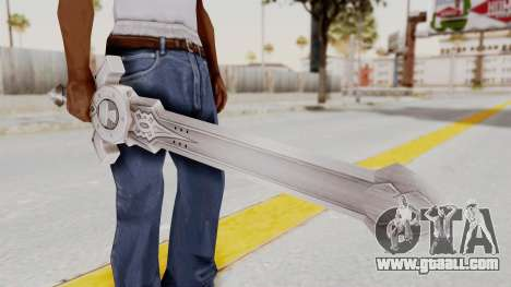 Horse Orphnoch Sword for GTA San Andreas third screenshot