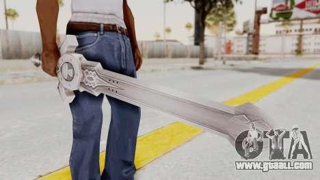 Horse Orphnoch Sword for GTA San Andreas third screenshot