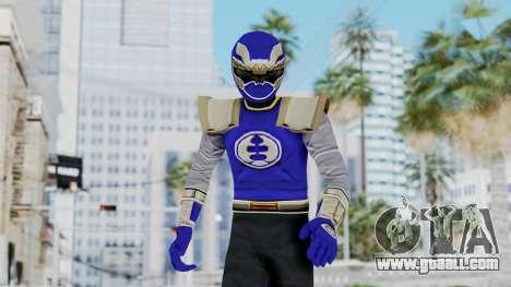 Power Rangers Ninja Storm - Navy for GTA San Andreas