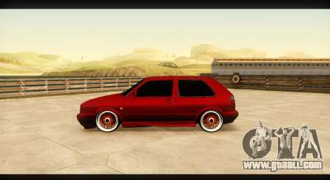 Volkswagen Golf GTI Mk2 for GTA San Andreas left view