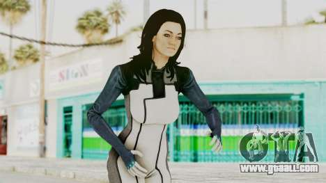 Mass Effect 3 Miranda in Evas Catsuit for GTA San Andreas