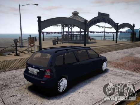 VAZ Kalina 1117 7-door for GTA 4 right view