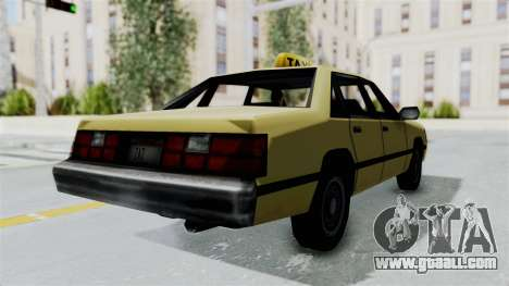 GTA Vice City - Taxi for GTA San Andreas left view