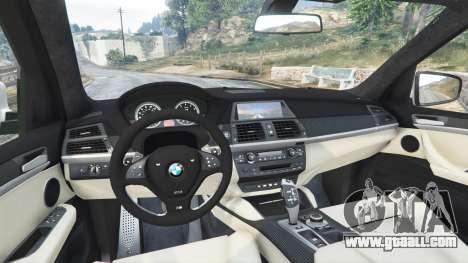 GTA 5 BMW X5 M rear right side view