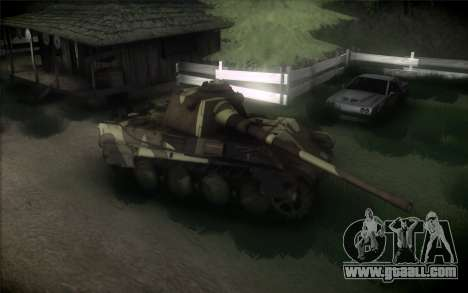 Panther II for GTA San Andreas back left view