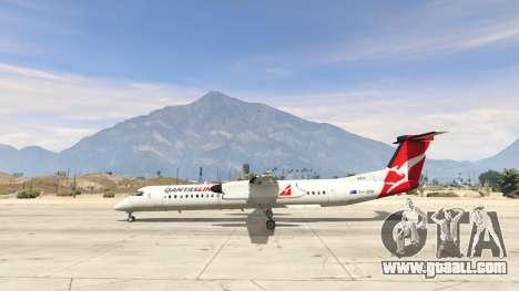 Bombardier Dash 8Q-400 for GTA 5