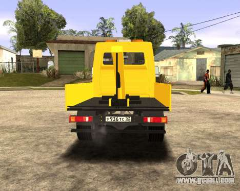 Mersedes-Benz Sprinter Towtruck for GTA San Andreas left view