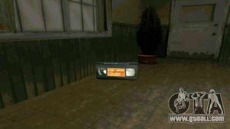 Replace icons and save lives for GTA San Andreas