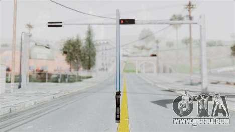Star Wars LightSaber Blue for GTA San Andreas second screenshot