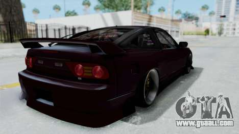 Nissan 180SX TOD for GTA San Andreas back left view