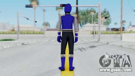 Power Rangers Ninja Storm - Navy for GTA San Andreas third screenshot