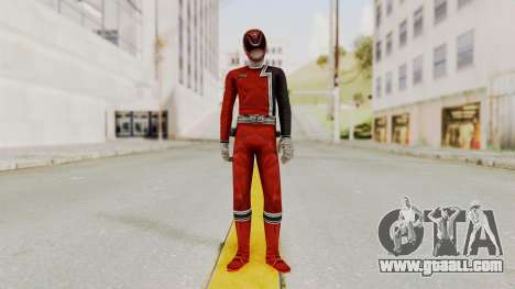 Power Rangers S.P.D - Red for GTA San Andreas second screenshot