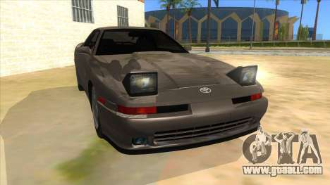 Toyota Supra 2.5Gt 1992 for GTA San Andreas back view