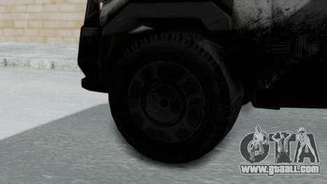 Advanced Warfare Tactical Pickup for GTA San Andreas back left view