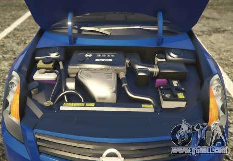 GTA 5 Nissan Altima 3.5SE back view
