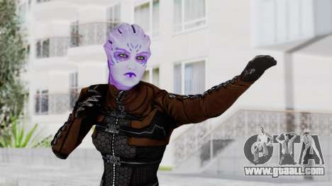 Mass Effect 1 Asari Shiala Commando for GTA San Andreas