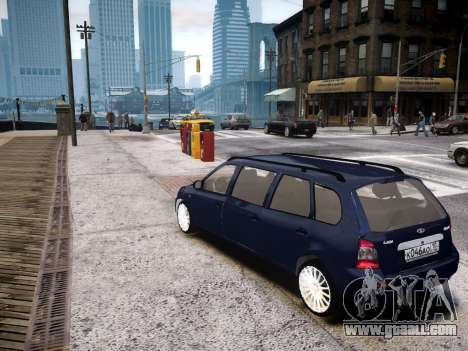 VAZ Kalina 1117 7-door for GTA 4 back left view