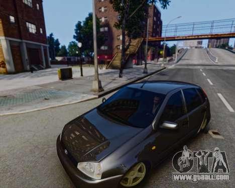 Lada Kalina for GTA 4 left view