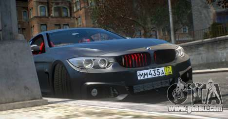 BMW 435i Coupe for GTA 4 right view
