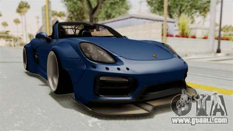 Porsche Boxster Liberty Walk for GTA San Andreas right view