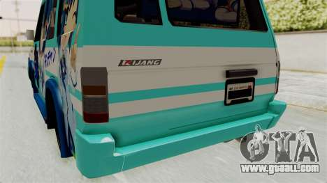 Toyota Kijang Grand Extra Itasha for GTA San Andreas upper view