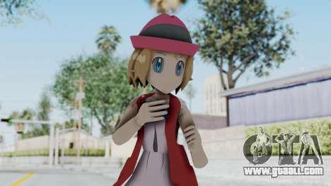 Pokémon XY Series - Serena (New Outfit) for GTA San Andreas